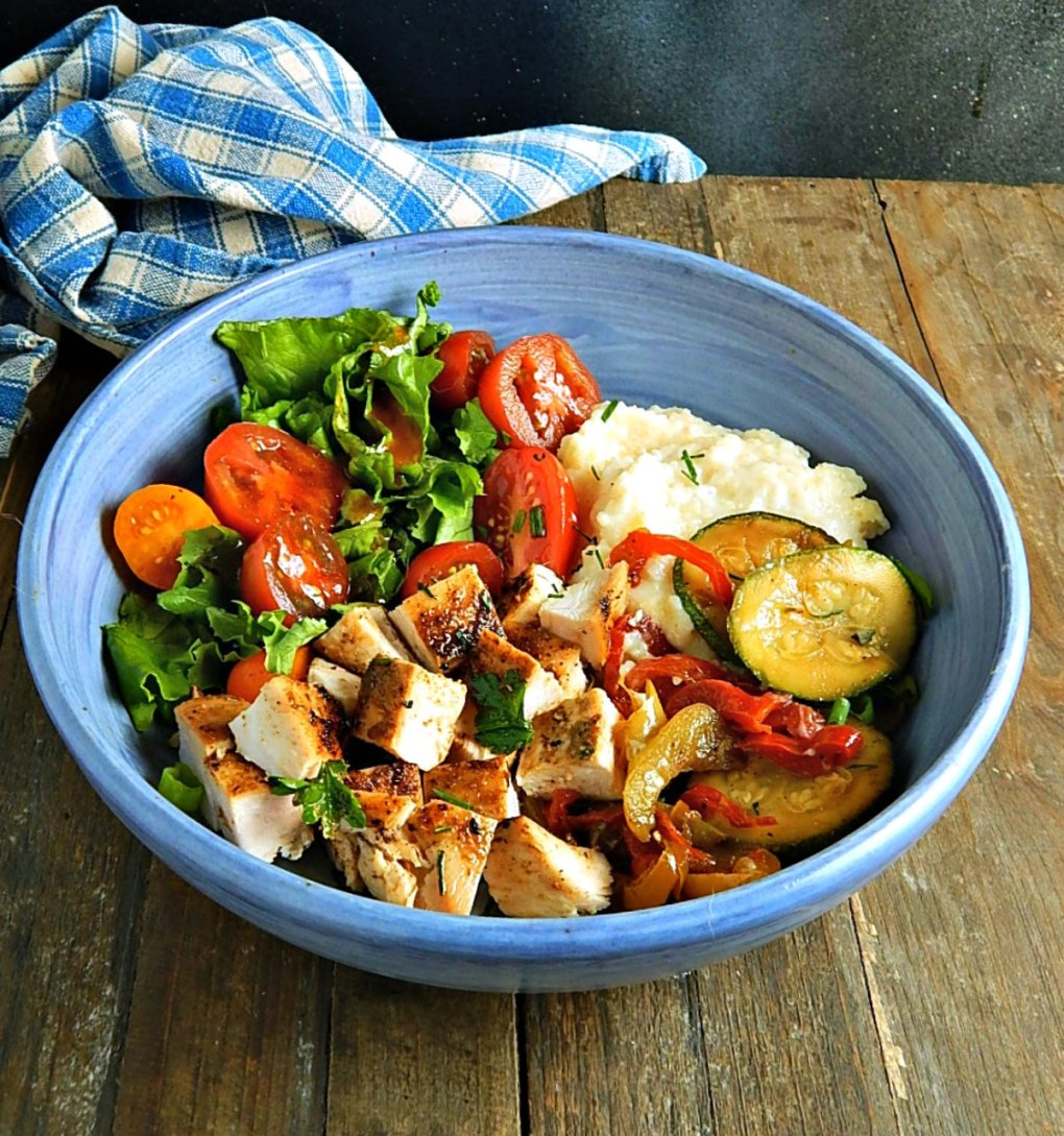 Cajun Chicken Bowl