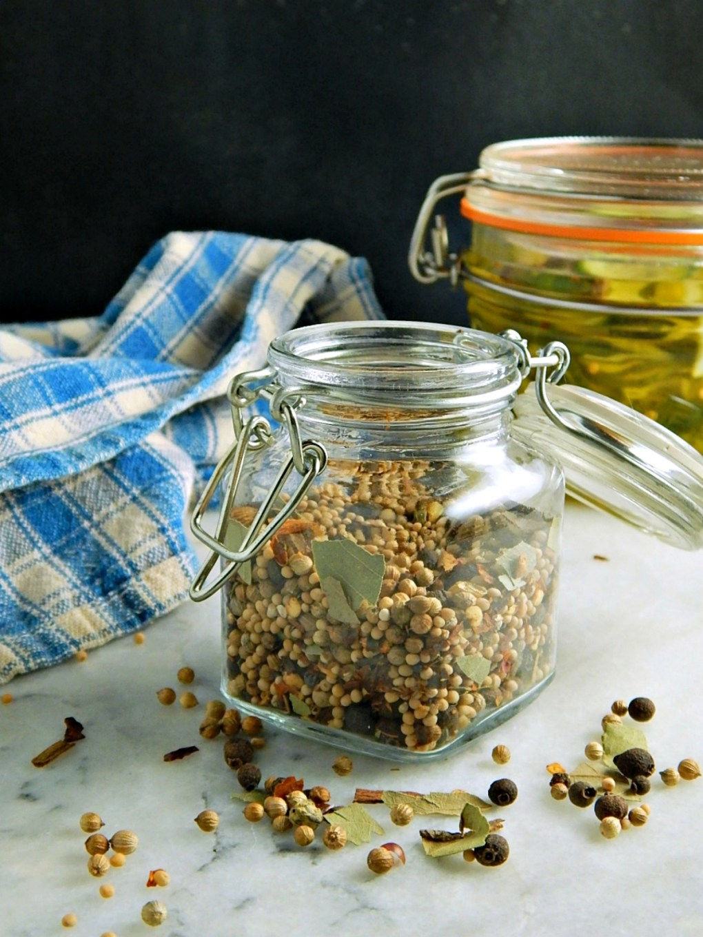 Homemade Pickling Spice with Sweet Tart Bread & Butter Pickles