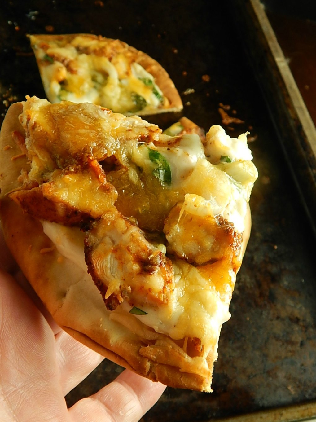 Cajun Chicken Flatbread Pizza