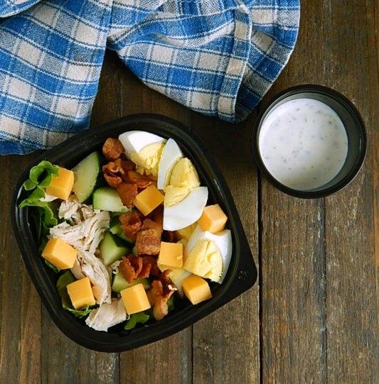 Snack Meal Prep Salad