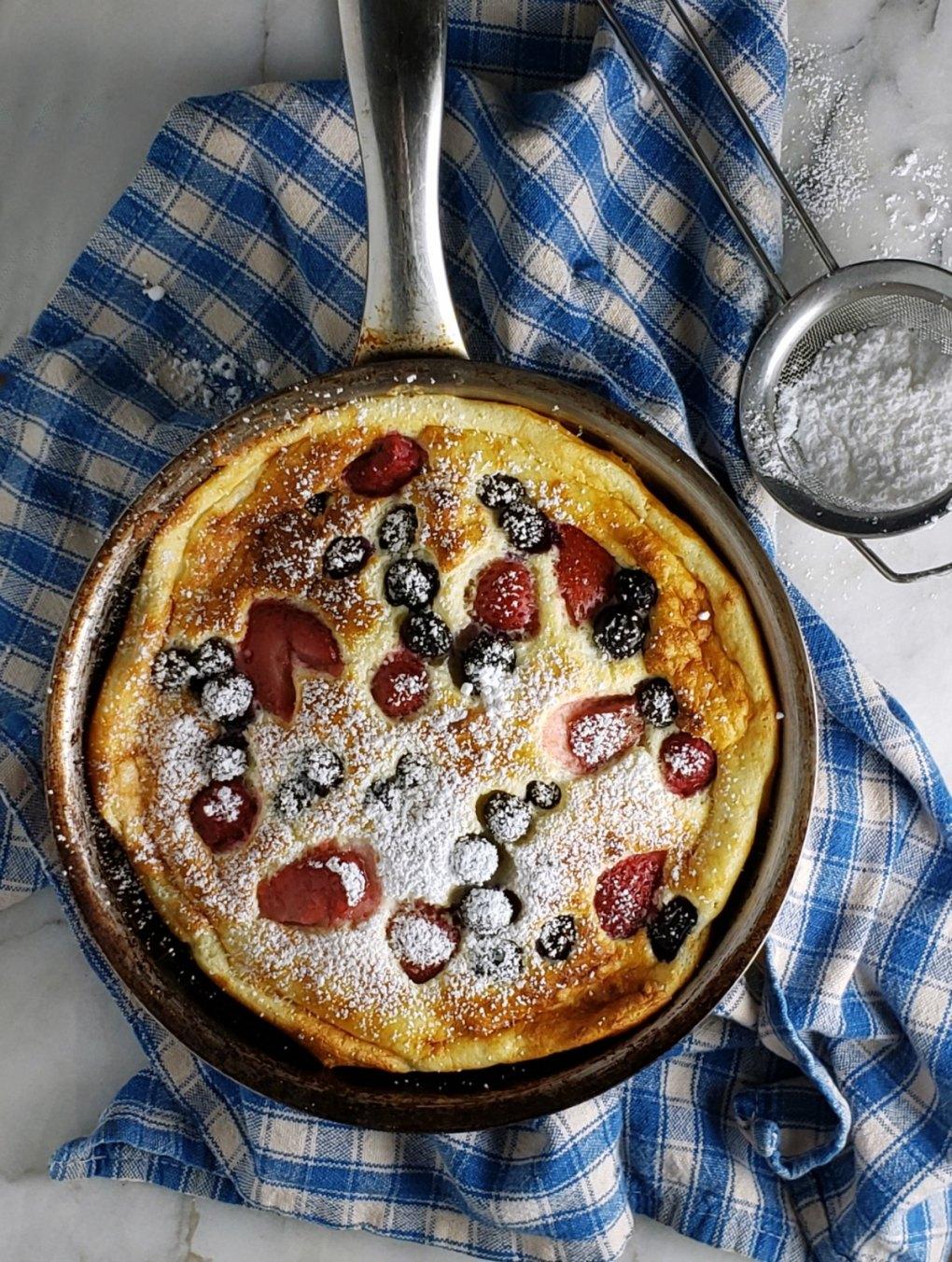 Berry Souffle Pancake
