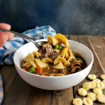 Instant Pot Scratch Beef Noodle Soup