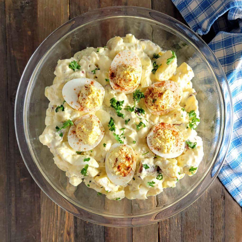 Deviled Egg Potato Salad