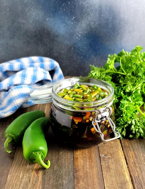 Soy Pickled Jalapenos