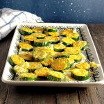 10 Minute Parmesan Zucchini