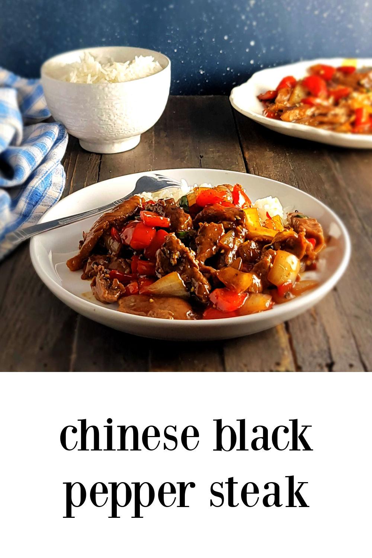 pin Chinese Black Pepper Steak