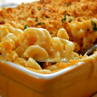 The Ultimate Ultimate Ultimate Macaroni & Cheese with Herb Bread Crumb Topping