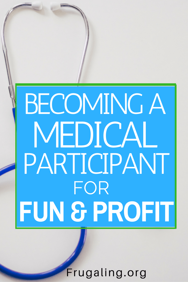 Compensation Provided: Becoming a Medical Participant for Fun and Profit.  More and more students are turning to medical participation - for better and for worse - to pay their student loans and credit card debt.