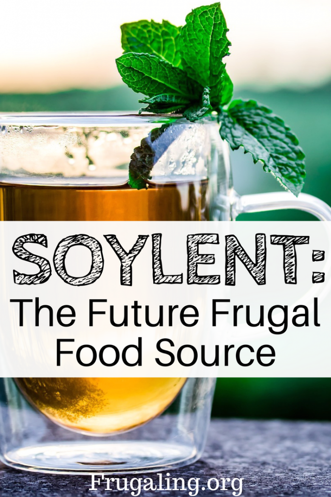 Soylent: The Future Frugal Food Source