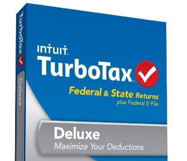 Intuit Turbotax Deluxe Federal State Refund Return Program