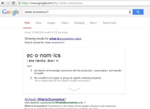 Google Search Economics Answers