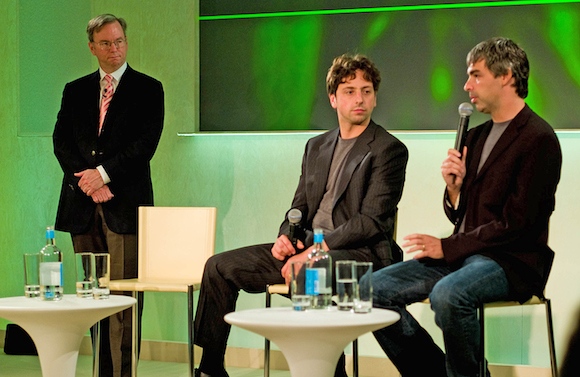 Entrepreneurial Google Founders Wikipedia Photo