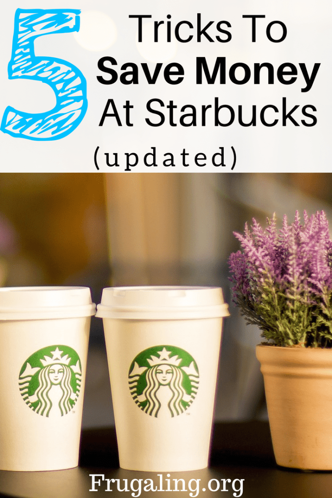 5 Tricks To Save Money At Starbucks (Updated). This is really helpful because I love Starbucks!