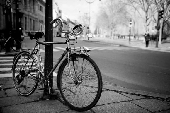 Bike ride through the city