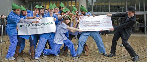 Robin Hood Tax Flickr Photo