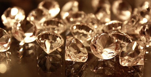 Diamonds. Photo by Kim Alaniz/Flickr