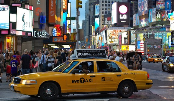 Advertising in New York City. Flickr photo by Pascal Subtil