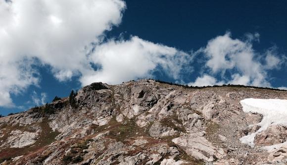 Glacier Mountain in Colorado