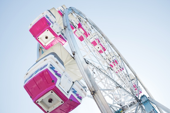 Finding balance on the ferris wheel of life