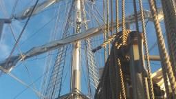 Segelschiff Mercedes Takelage