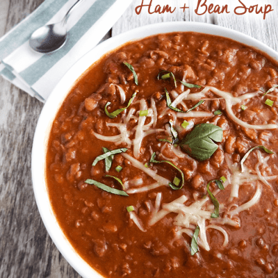 Mashup Meal: Crock Pot Ham and Bean Soup