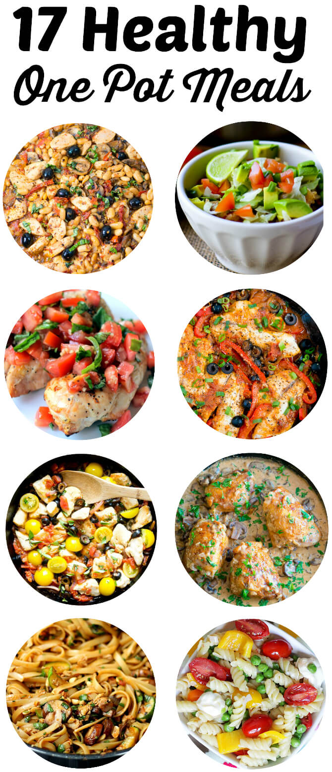 Easy cook one pot recipes