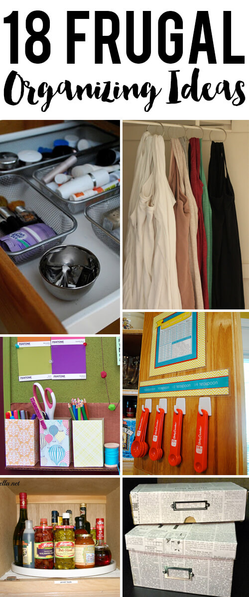 18 Organization Ideas for the Home