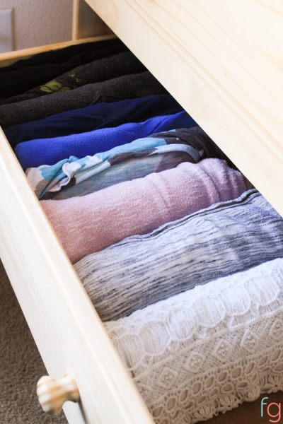 How we Got Rid of Most of Our Clothes