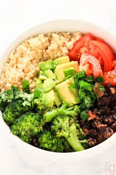Quick and Easy Vegan Buddha Bowl