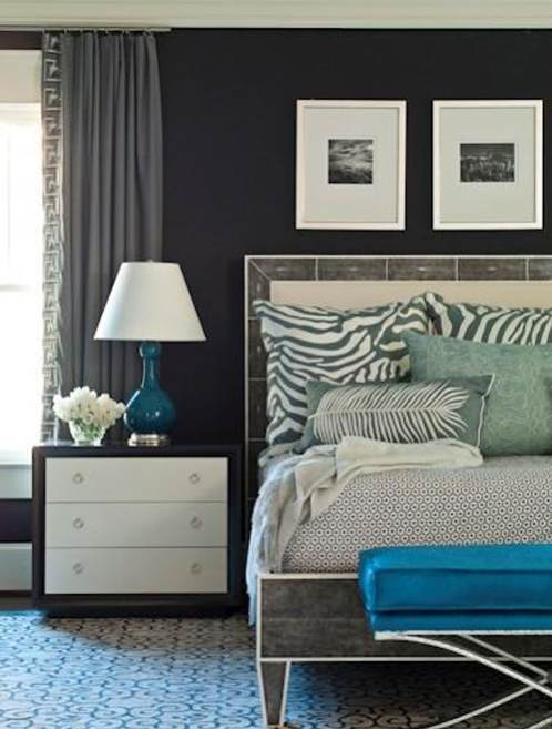 title | Teal Blue And Gray Bedroom