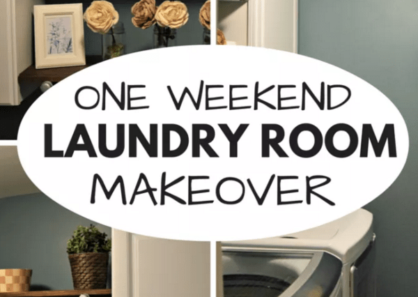 Friday Home Linkup - Laundry Room Makover