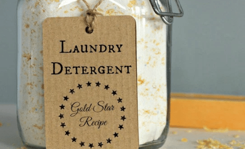 Frugal Friday Linky - DIY Laundry Gold Star Recipe