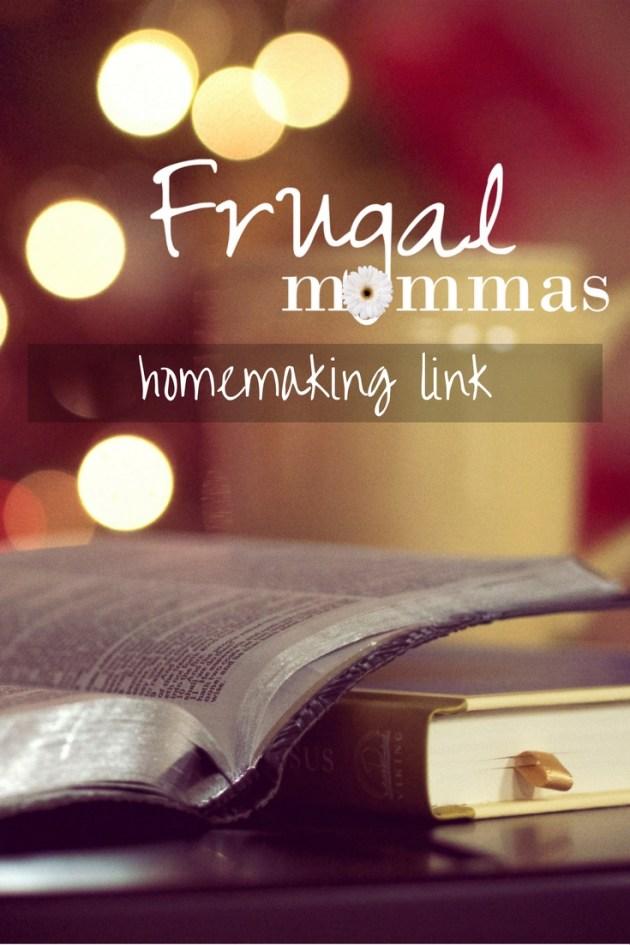 frugal mommas homemaking link