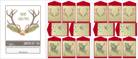 Christmas bundle giveaway - free gift tags