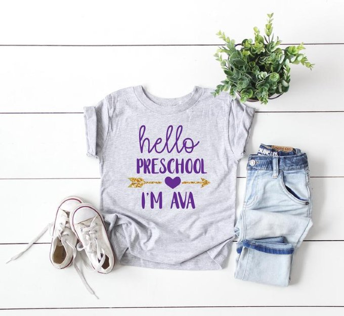 Preschool Customized T-shirt