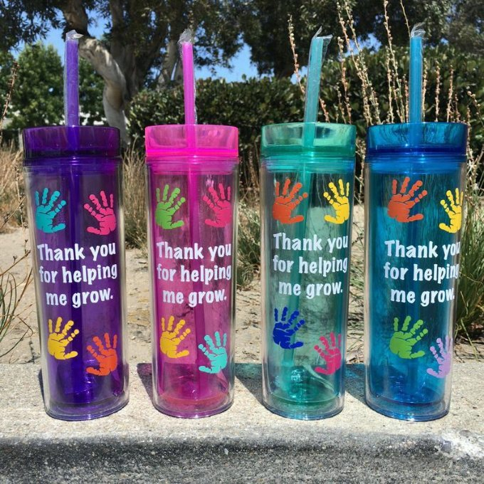 Personalized Teacher Water Bottle