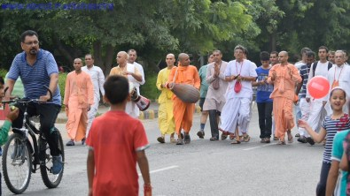 Walking in a Religious Way... Hare Rama