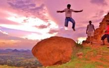 Scary jump or Daring jump