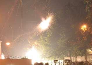 A fireworks far far away