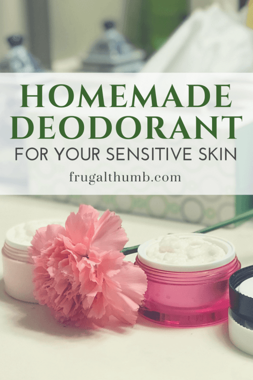 Save Your Sensitive Skin - and Wallet - with Homemade Deodorant