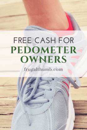 Free Cash for Pedometer Owners