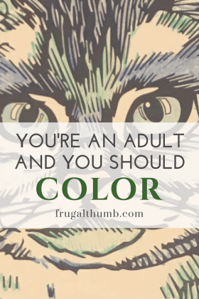 You're an Adult and You Should Color
