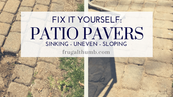 patio pavers yourself frugal thumb