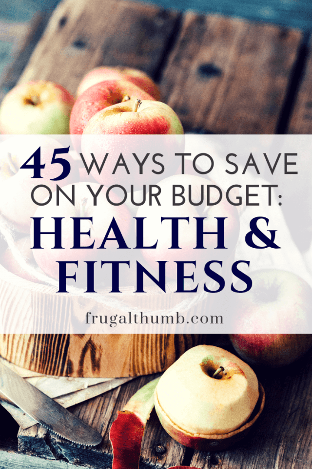 Ways to Save on Your Health and Fitness Budget