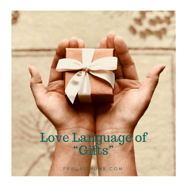 Gift Love Language Ideas