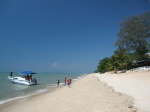 Batu Ferringhi (Foreigner's Rock) Beach Area