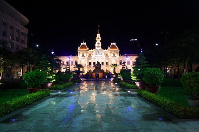 The People's Committee Building in Ho Chi Minh City