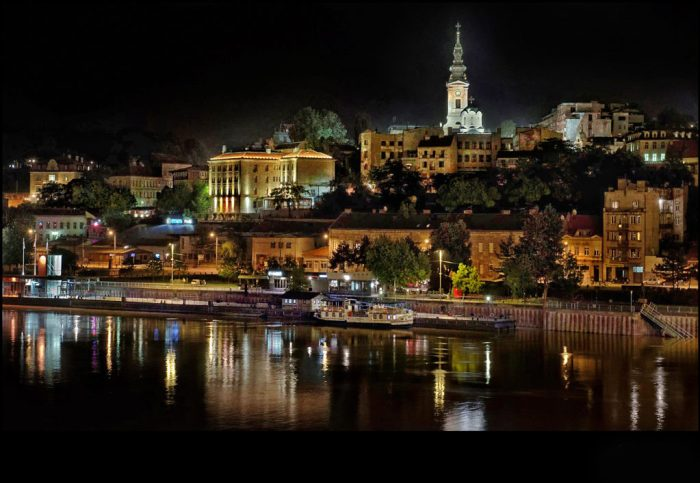 Beautiful Belgrade at Night