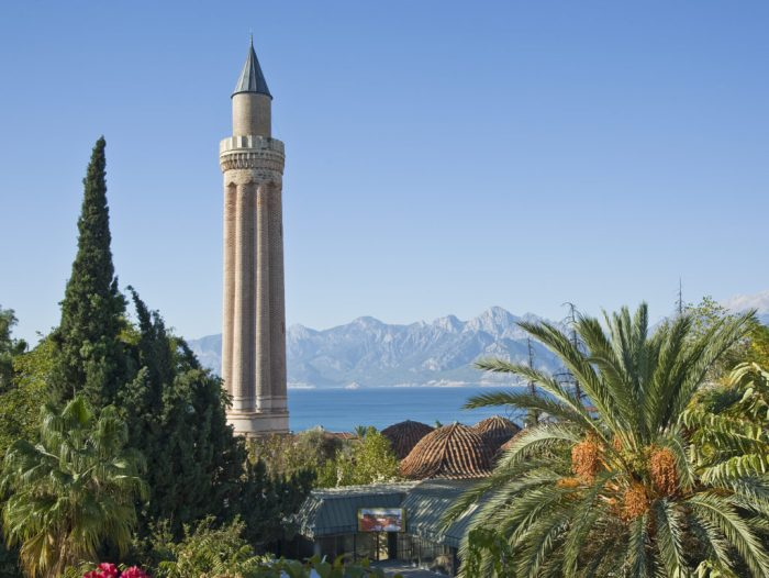 Yivliminare Mosque in Antalya