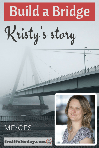 Pinterest image of Kristy's Build a Bridge interview